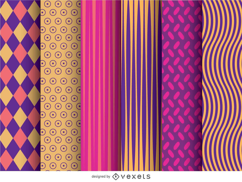 6 Modern Wallpaper Patterns Download Large Image 838x635px