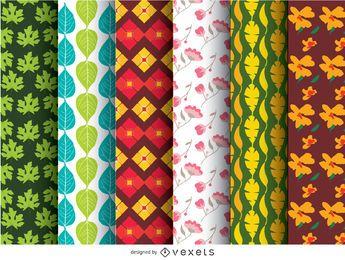 6 wallpaper patterns