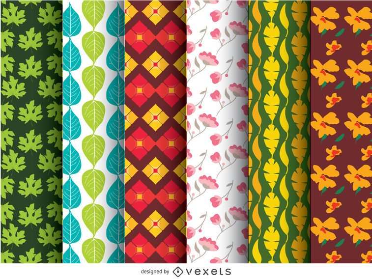 6 wallpaper patterns