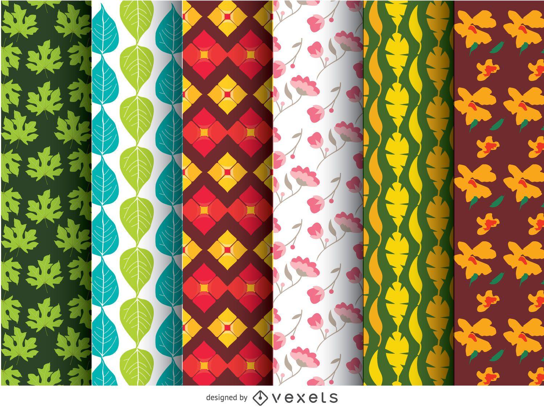 6 patrones de papel tapiz