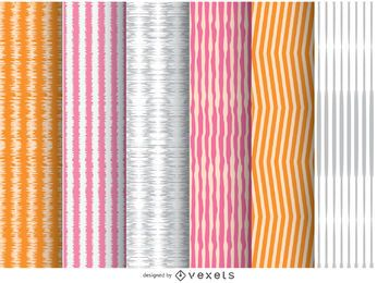 6 irregular stripes backgrounds