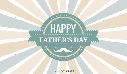 Vintage Father?s Day Greeting Card