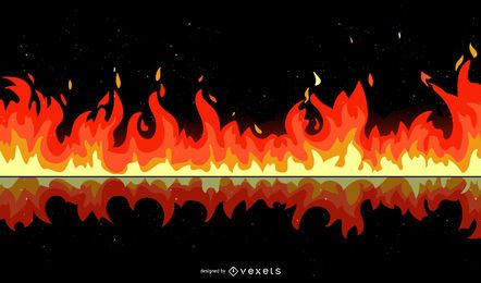 Elementos de fogo escuro