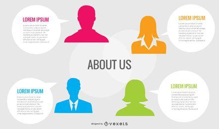 Quem Somos Perfil da Empresa Mockup