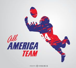 American Football Grunge