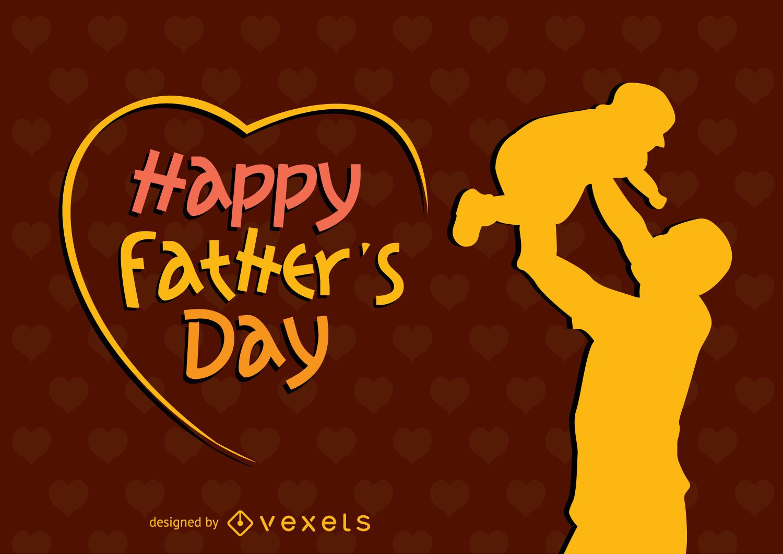 Cartaz Feliz Dia dos Pais