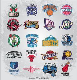 Logotipos de vetor da NBA