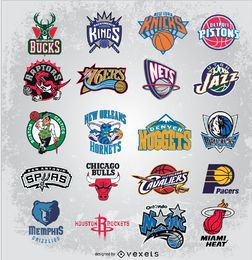 Logotipos vectoriales de la nba