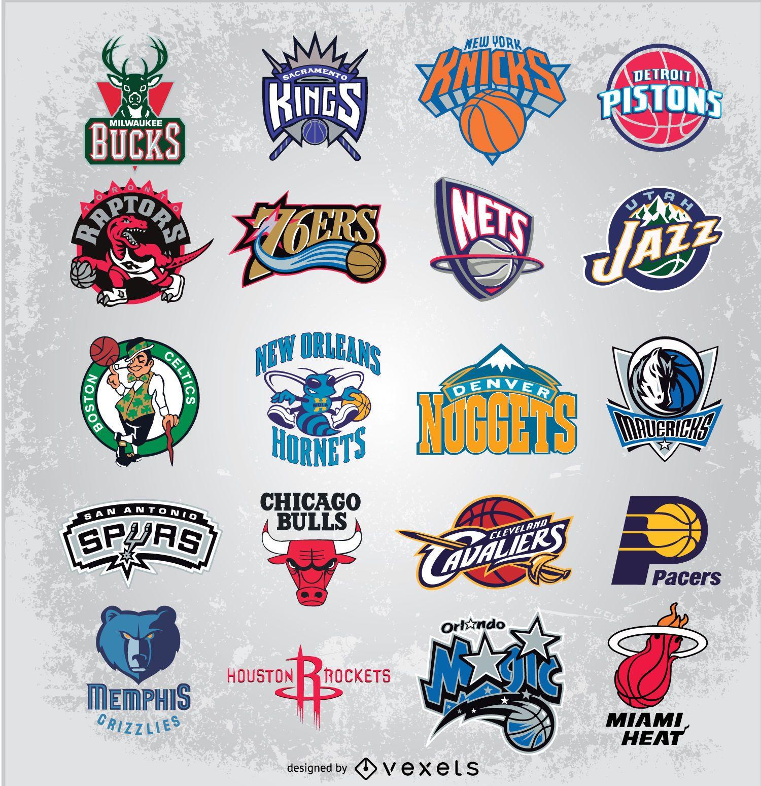 Logotipos vectoriales de la NBA