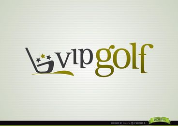 VIP Golf Logo Sport Logo