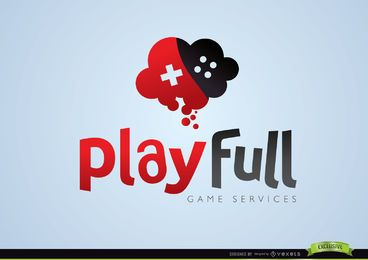 Kreatives Play-Full-Gaming-Logo