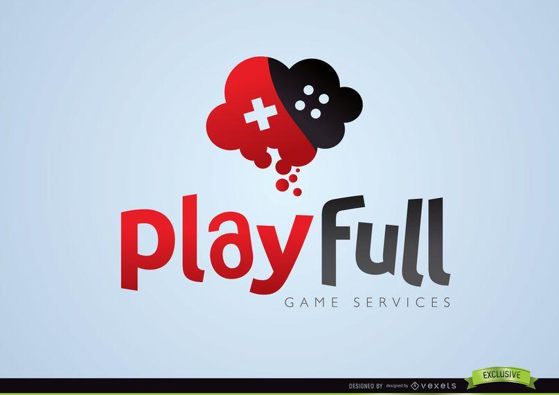 Jogo Criativo Logotipo Completo de Jogos