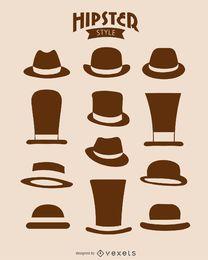 12 chapéus de hipster