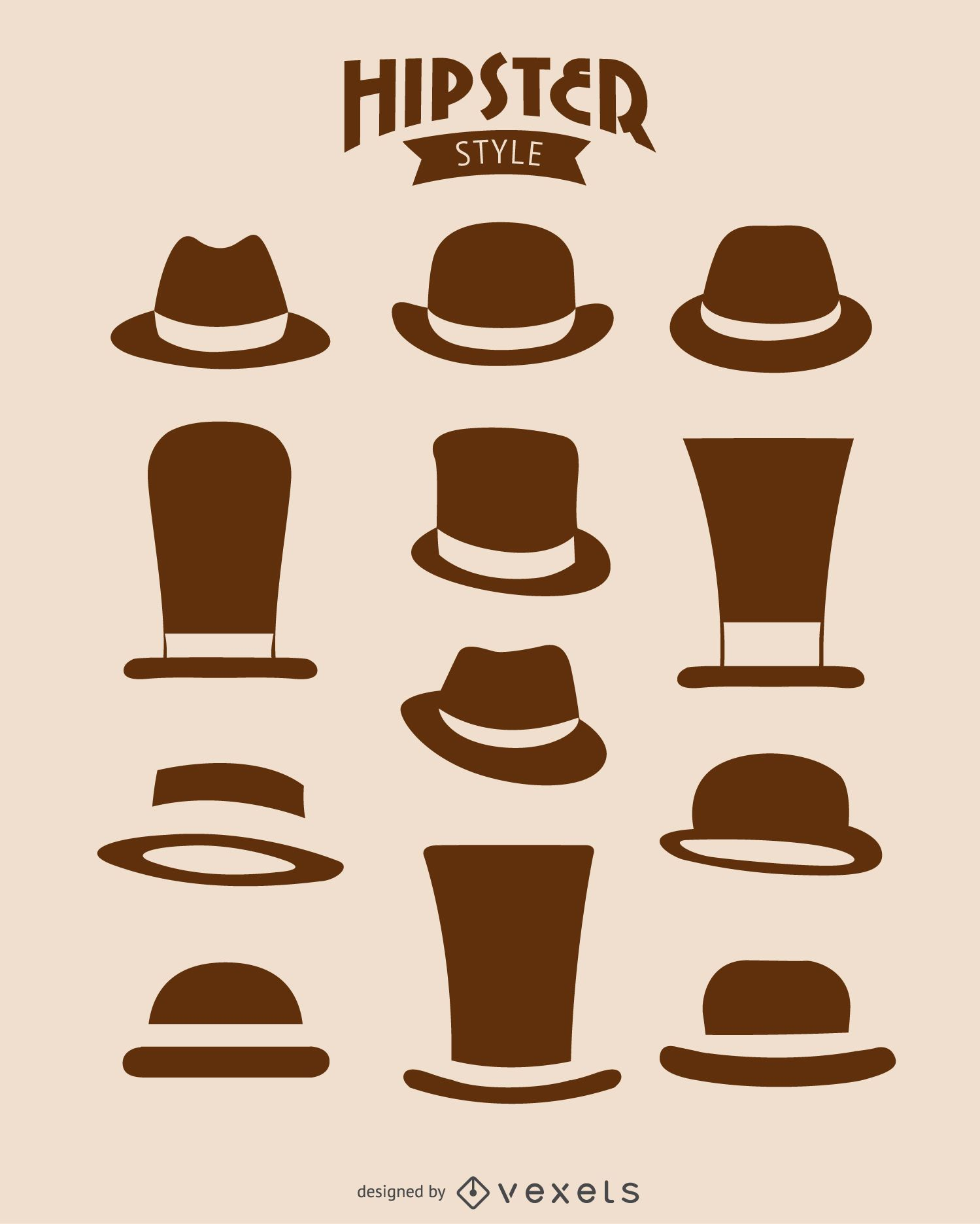 12 Hipster hats