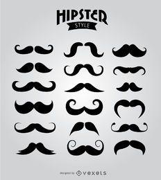 18 bigotes hipster