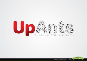 Logotipo de proyectos de financiación de hormigas