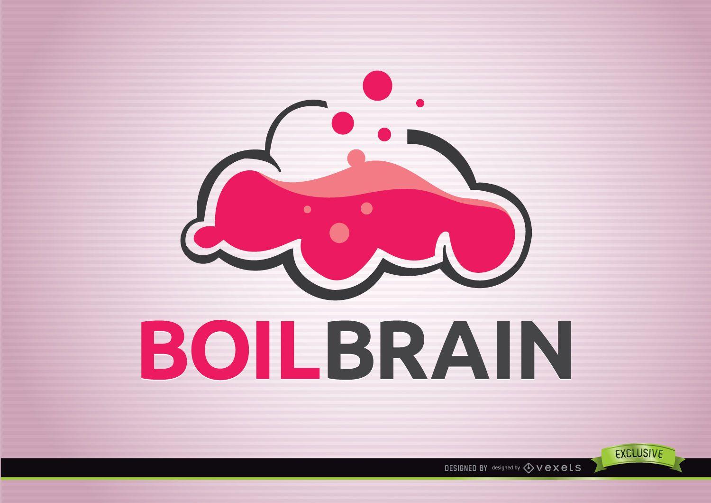 Boil brain creativity logo
