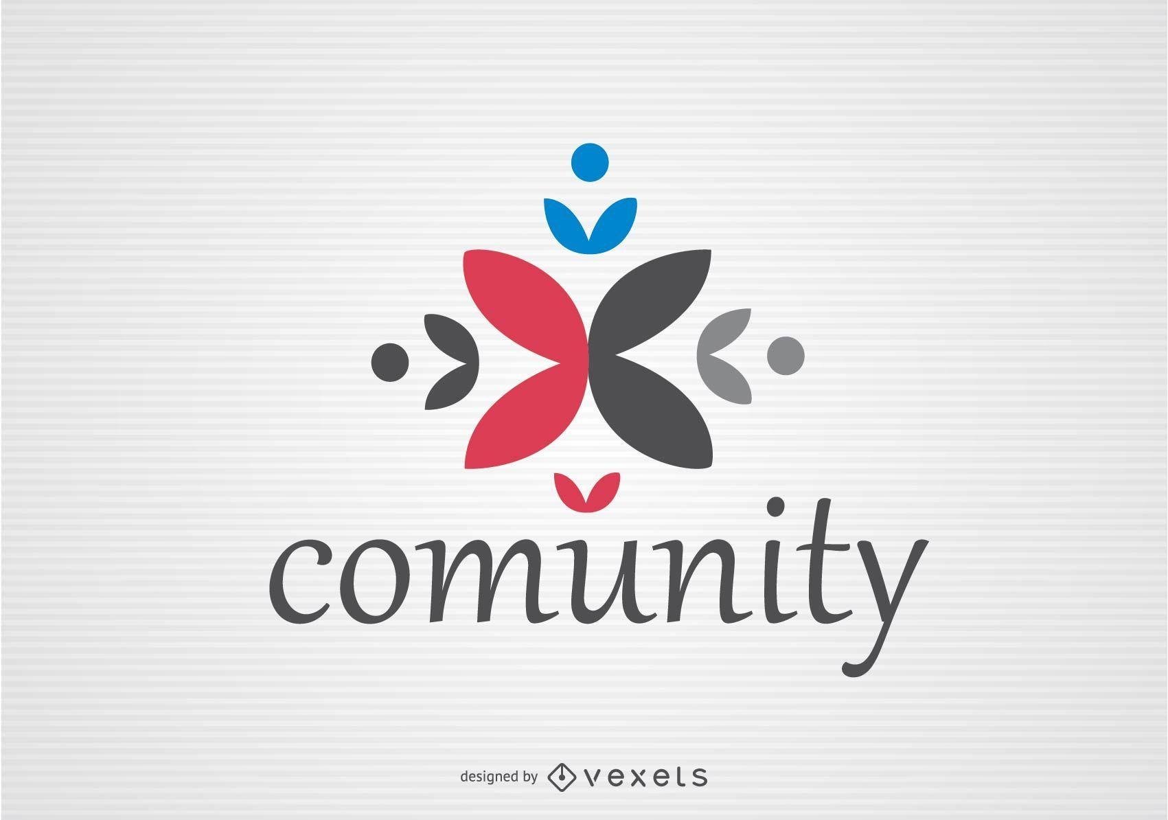 Logotipo da equipe da comunidade