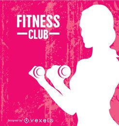 Grunge mujer fitness