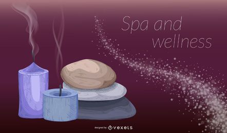 Spa und Beauty Wellness Hintergrund