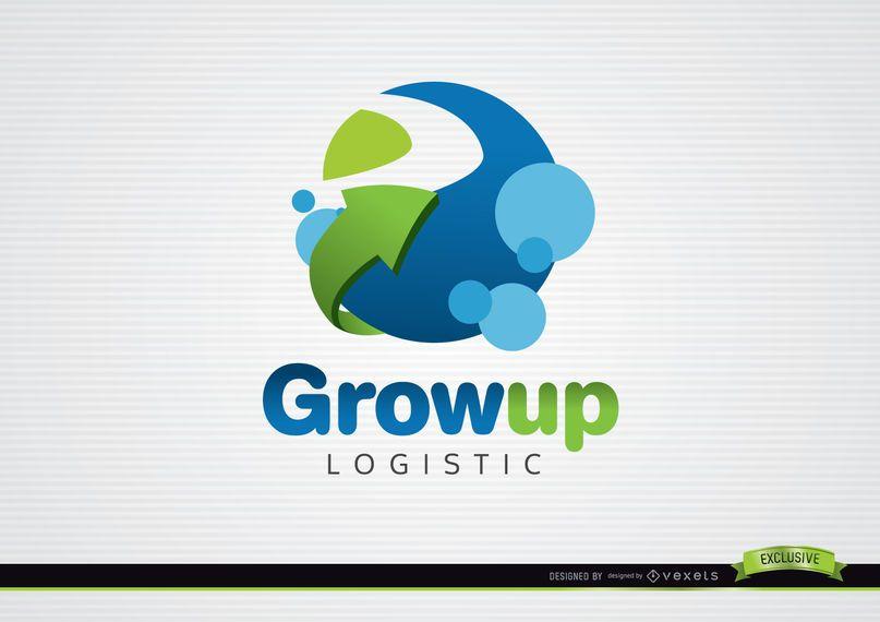 Circle and Arrow Company Logo