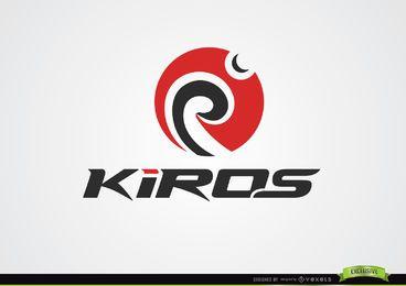 Spinning Kreis wirbelt Logo