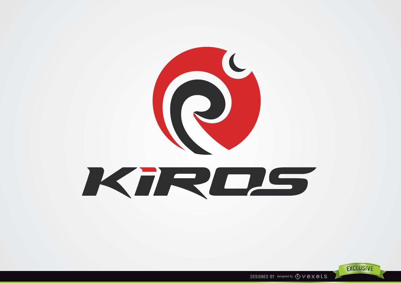 Spinning Circular Swirls Logo
