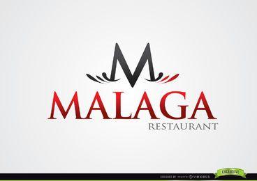 Logotipo do M Typographic Malaga Restaurant