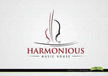 Liner Violine musikalisches Logo