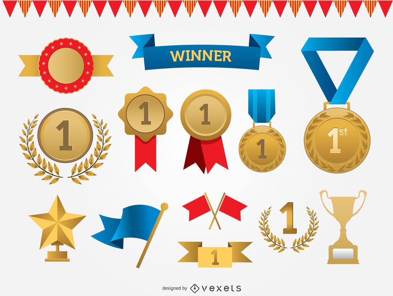 Premios conjunto de vectores