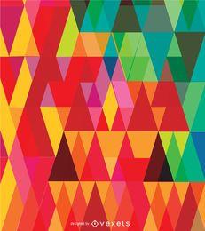 Geometrische abstrakte Dreiecke