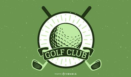 GOLF GOLF CLUBS WHEAT VECTOR