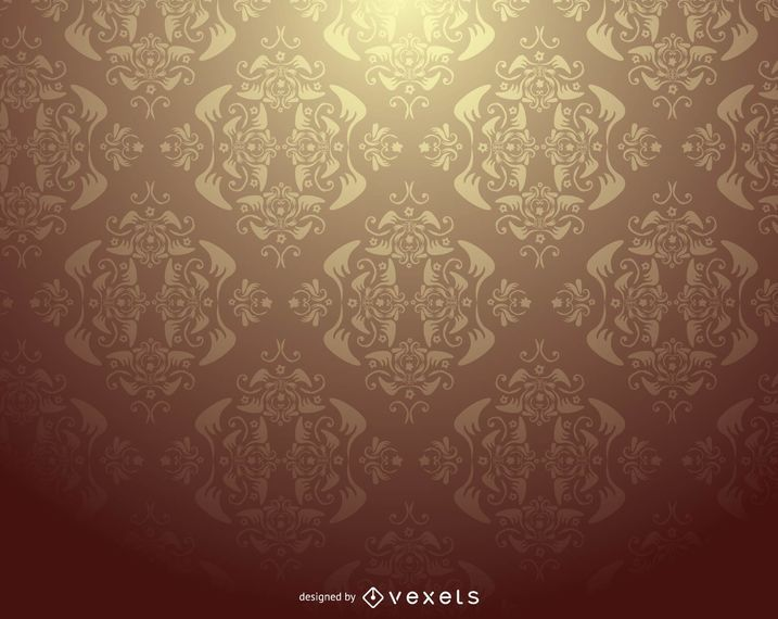 Damask Ornate Seamless Pattern