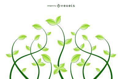 Frische Blumen Eco Pflanzen