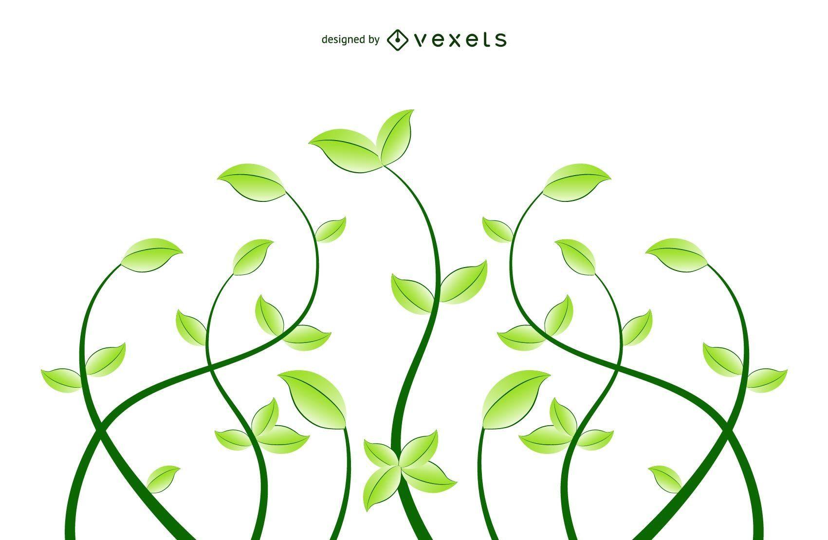Fresh Floral Eco Plants