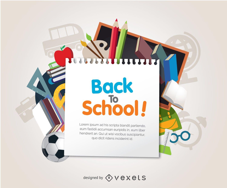 Elementos de regreso a la escuela