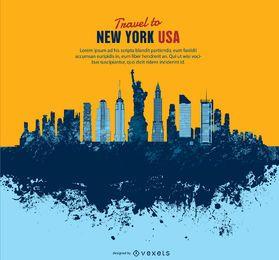 Skyline de Manhattan Grung