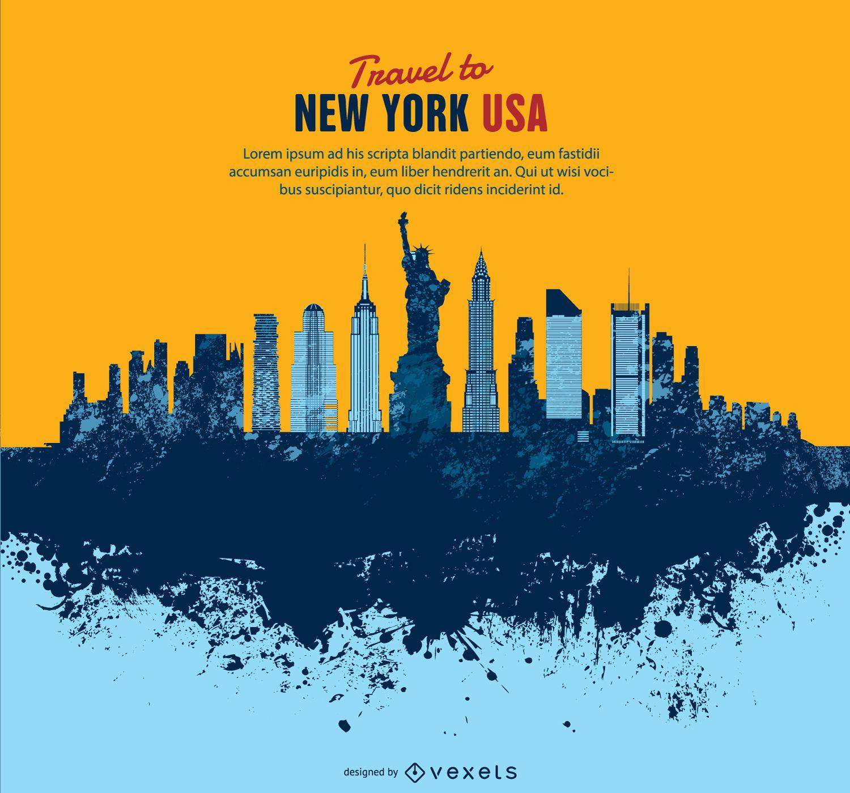 Manhattan Grung Skyline