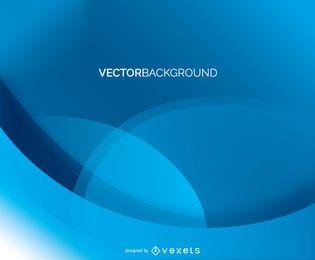 Fondo azul abstracto del vector