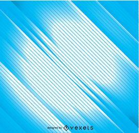 Hellblaue Hintergrundlinien