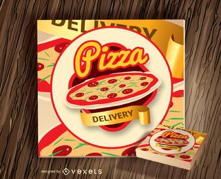 Logotipo de Pizza Box
