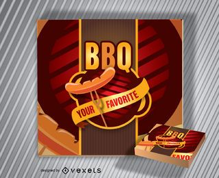 Barbecue Logo BBQ