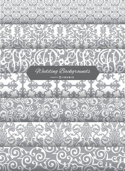 7 wedding backgrounds