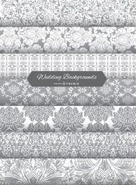 Wedding Invitation Background patterns