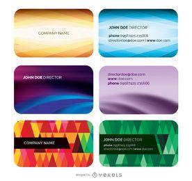 Plantillas de tarjetas de visita Cool