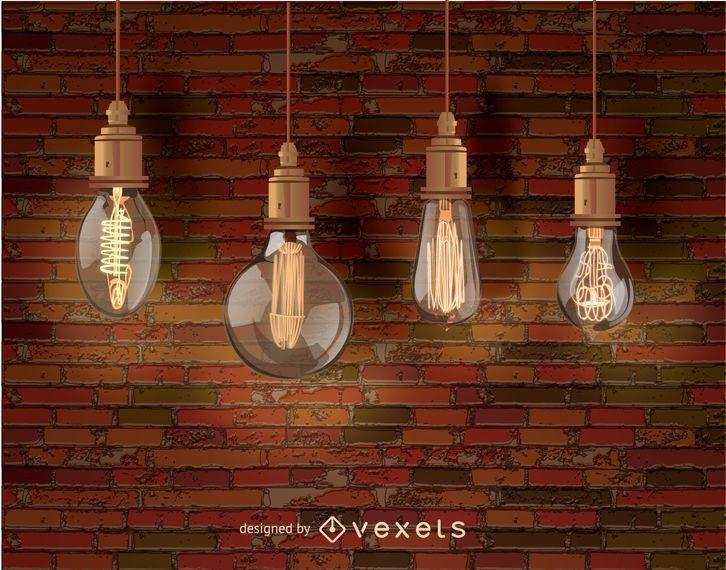 Edison bombillas decorativas