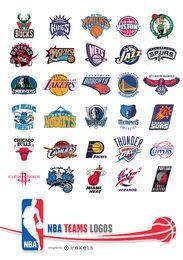 Times da NBA Logos