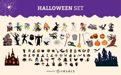 Halloween Character Graphic set