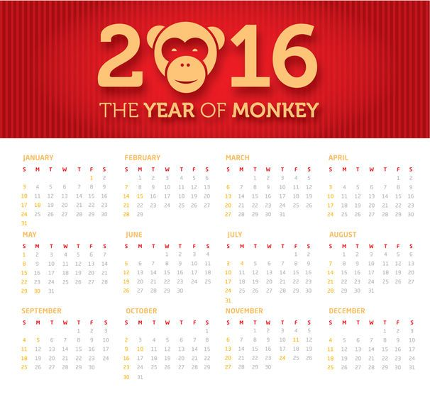 Year of the Monkey banner