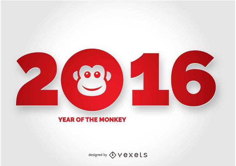 2016 Year of the Monkey Design